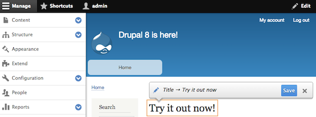 Ditch Drupal 6 for the all new Drupal 8