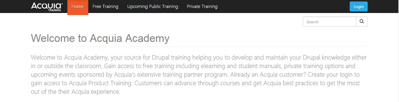 Acquia Academy
