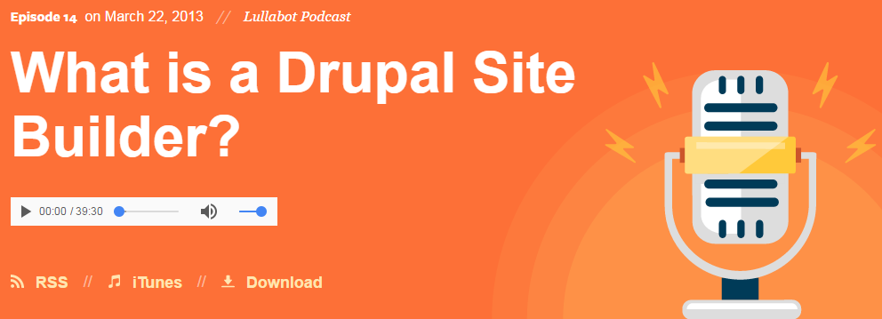 What is a Drupal Site Builder?