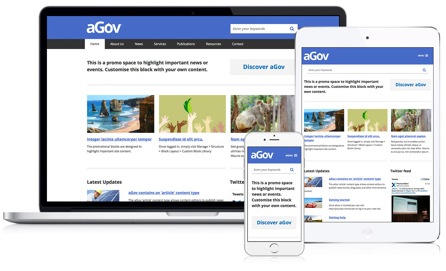 Drupal for Australian Government agov