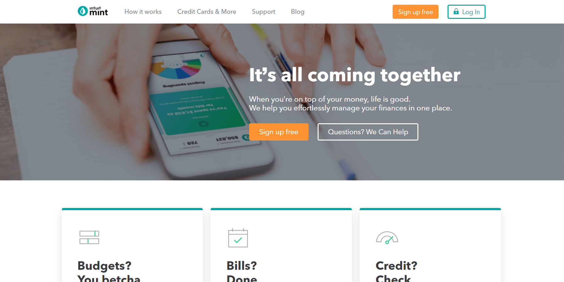 Mint Drupal Website