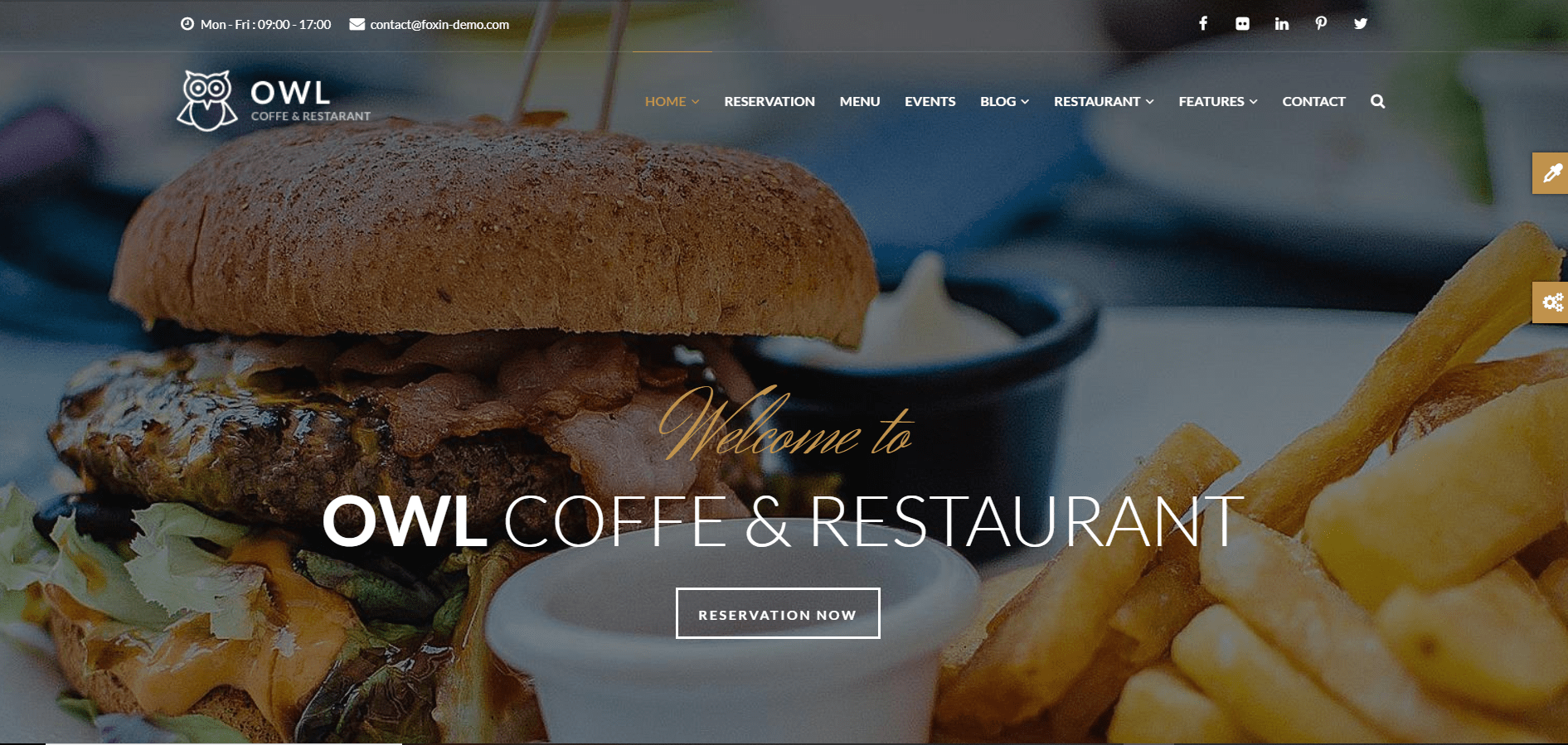 Best Drupal Theme: OWL by gavias