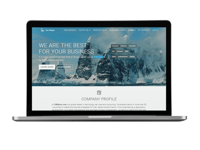 Ice Magic Theme | Themes for Drupal 8