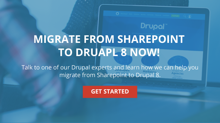 Migrate Sharepoint to Drupal 8