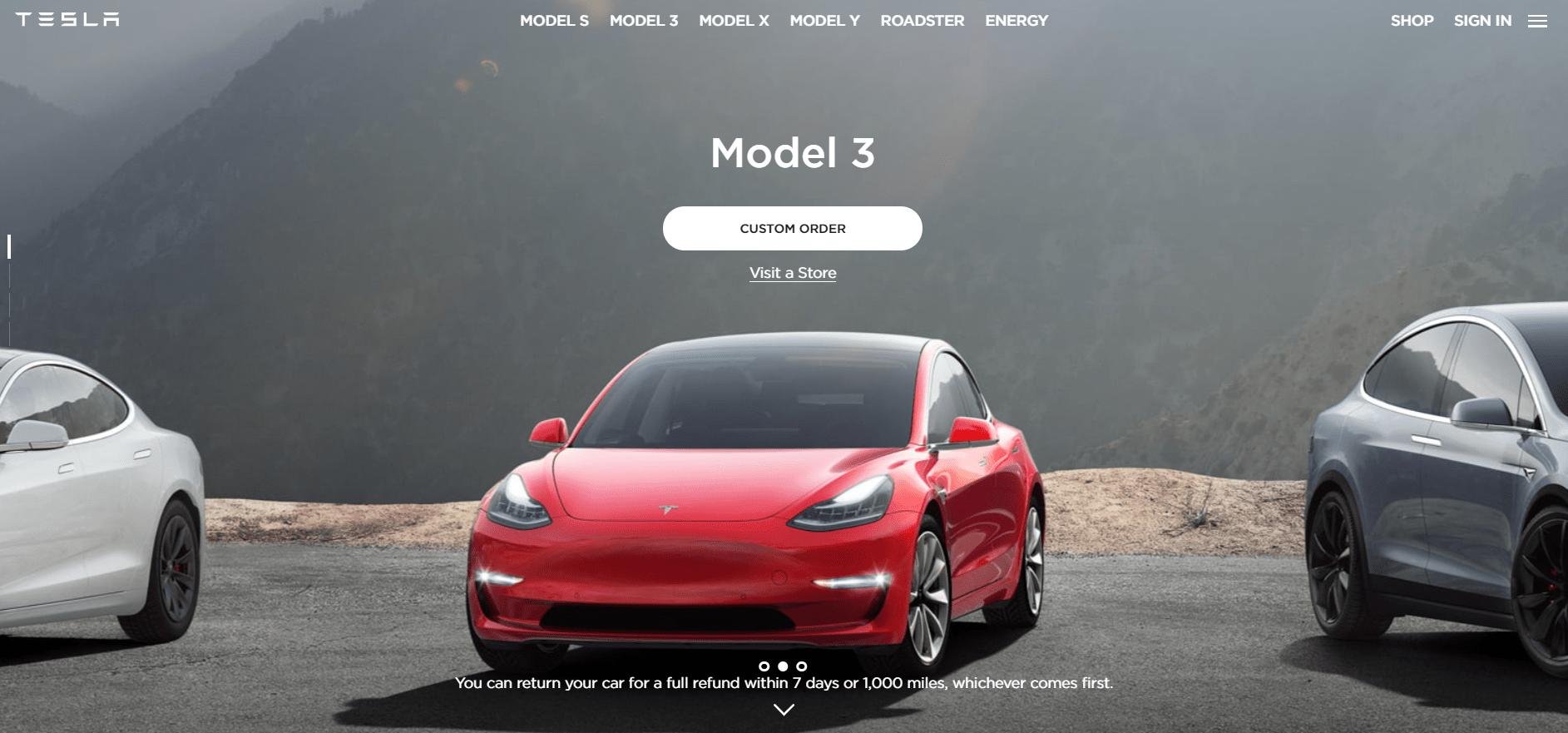 Tesla Drupal Website