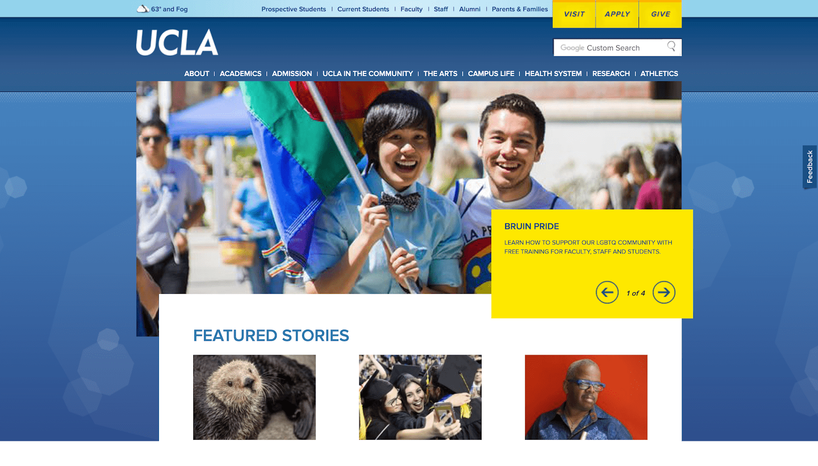 UCLA website