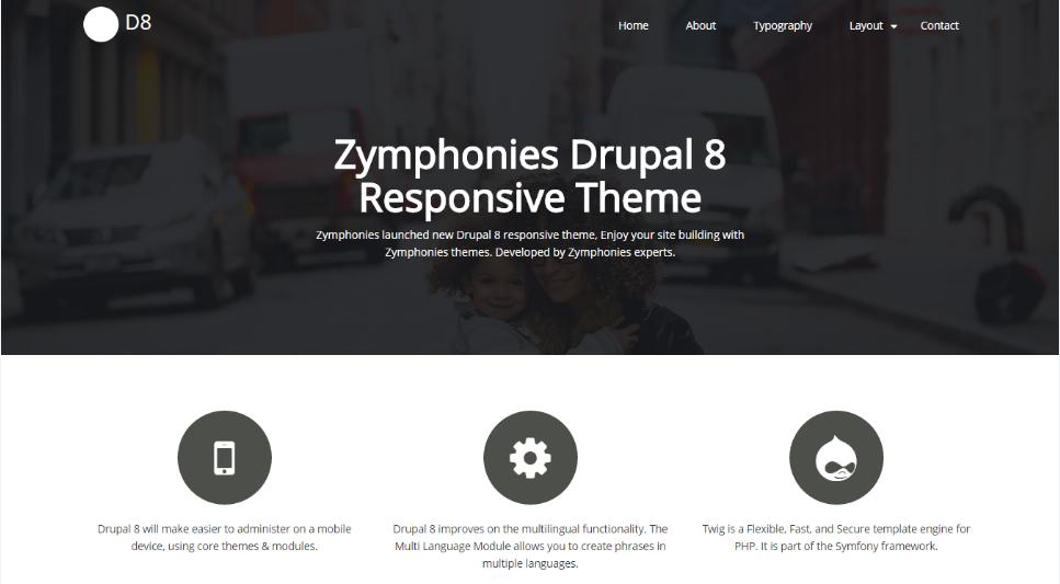 drupal themes multilanguage