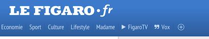 Popular Drupal built website Le Figaro