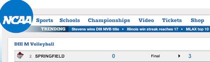 Popular Drupal built website NCAA.com
