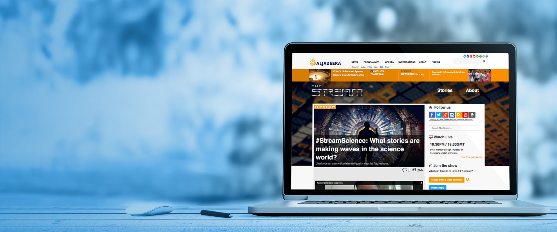 The Stream: New website for Al Jazeera built with Drupal