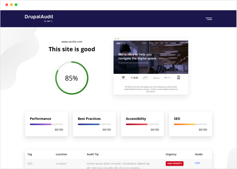 Website Performance Audit Reports