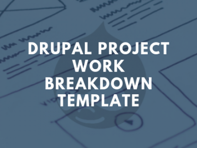 Drupal Project Work Breakdown Structure Template
