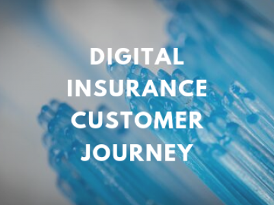 Digital Insurance Customer Journey Infographic