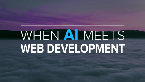 Artificial Intelligence in web development