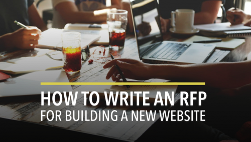 RFP for building a new website