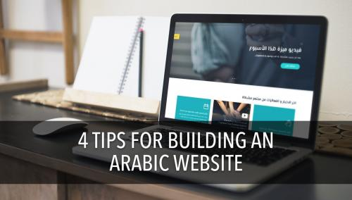 Tips for Building an Arabic Website