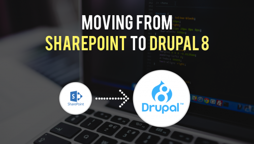 Moving from Sharepoint to Drupal 8
