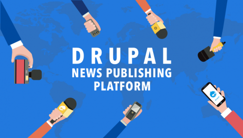 Drupal 8 News Publishing Platform