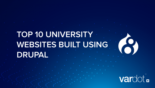 Top 10 University Drupal Websites