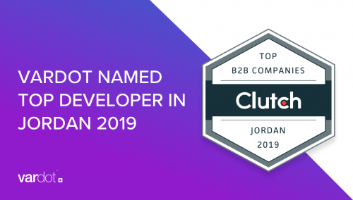 Vardot Named Top Developer in Jordan 2019