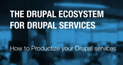 The Drupal Ecosystem: How to Productize Your Drupal Services