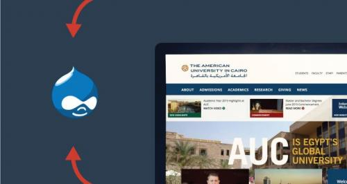 The American University in Cairo's New Website