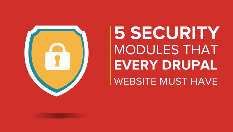 5 Security Modules That Every Drupal Website Must Have