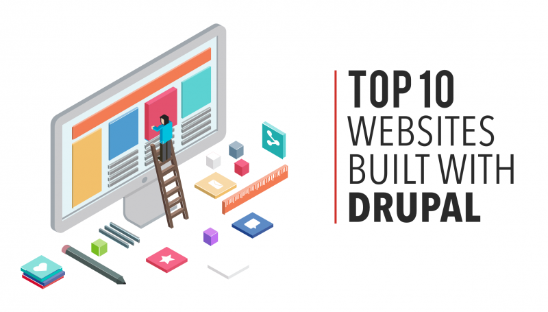 Top 10 Websites Built with Drupal
