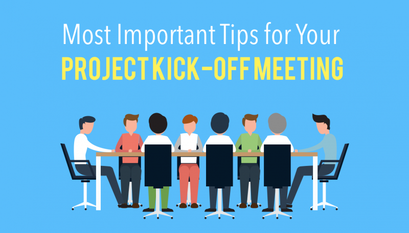 Tips for your Project Kick-off Meeting