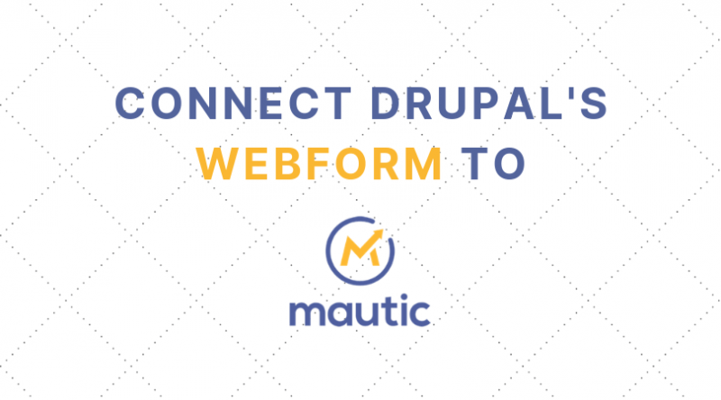 Connect Drupal 8 Webform to Mautic