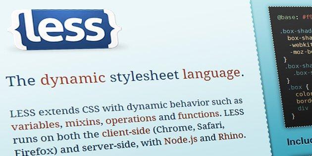 LESS CSS Apache module   Vardot