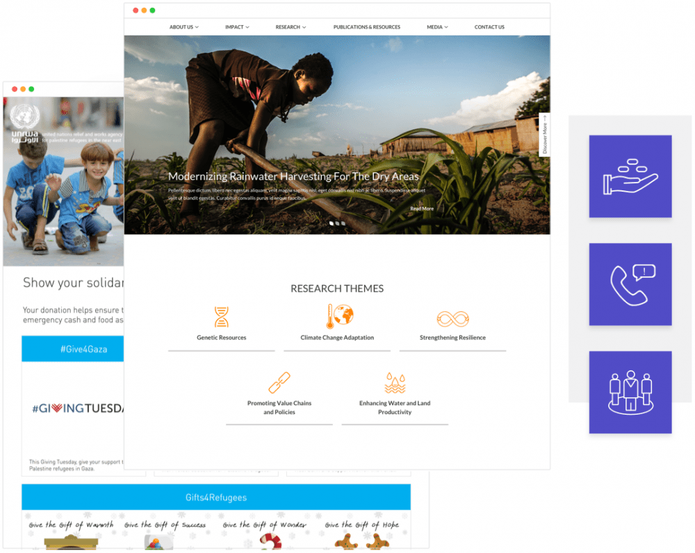 Open Source CMS for Nonprofits