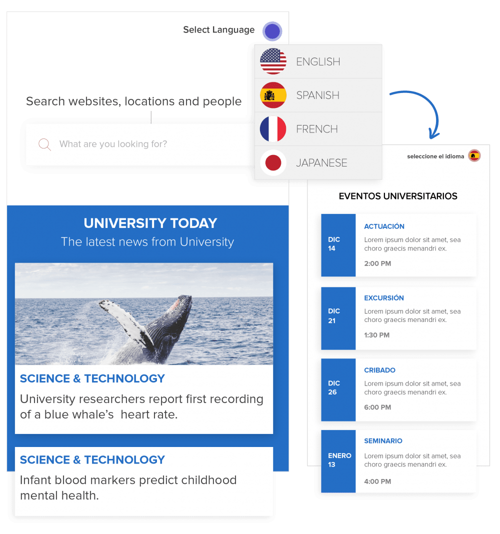 Open Source CMS for Universities and Schools