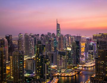 Dubai Skyline Arabia Monitor Case Study