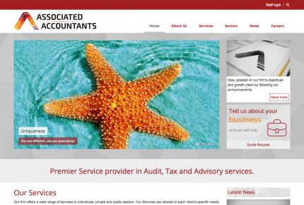 Associated accountants - home