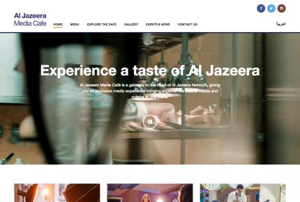 Experince the taste of Al Jazeera in Al Jazeera Cafe