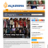 Al Jazeera Website Screen-shot