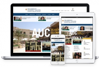 The American University in Cairo Website Developed by Vardot