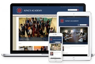 King's Academy Website Developer by Vardot